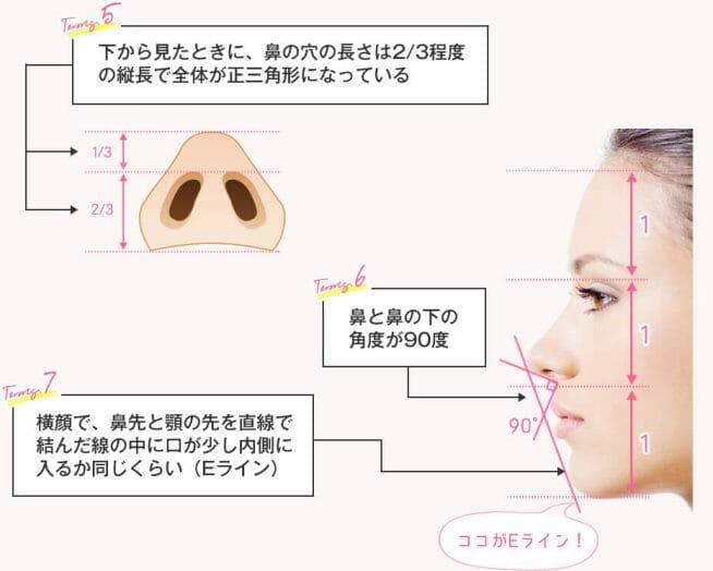 美鼻を作る7つの条件